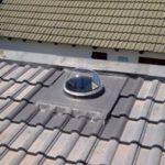 Solar tube outside